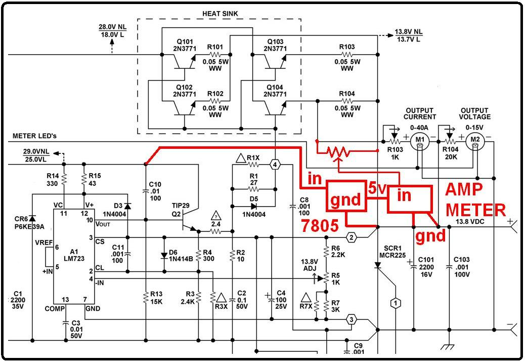 astron power supply schematic variable power supply