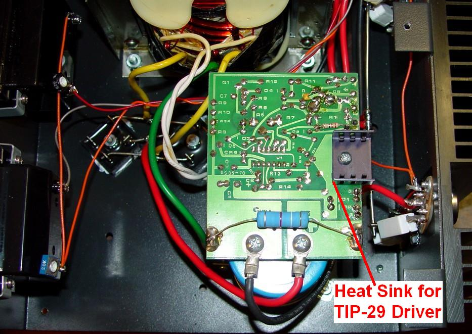 installing a new regulator board in an old astron power supply ac drive wiring