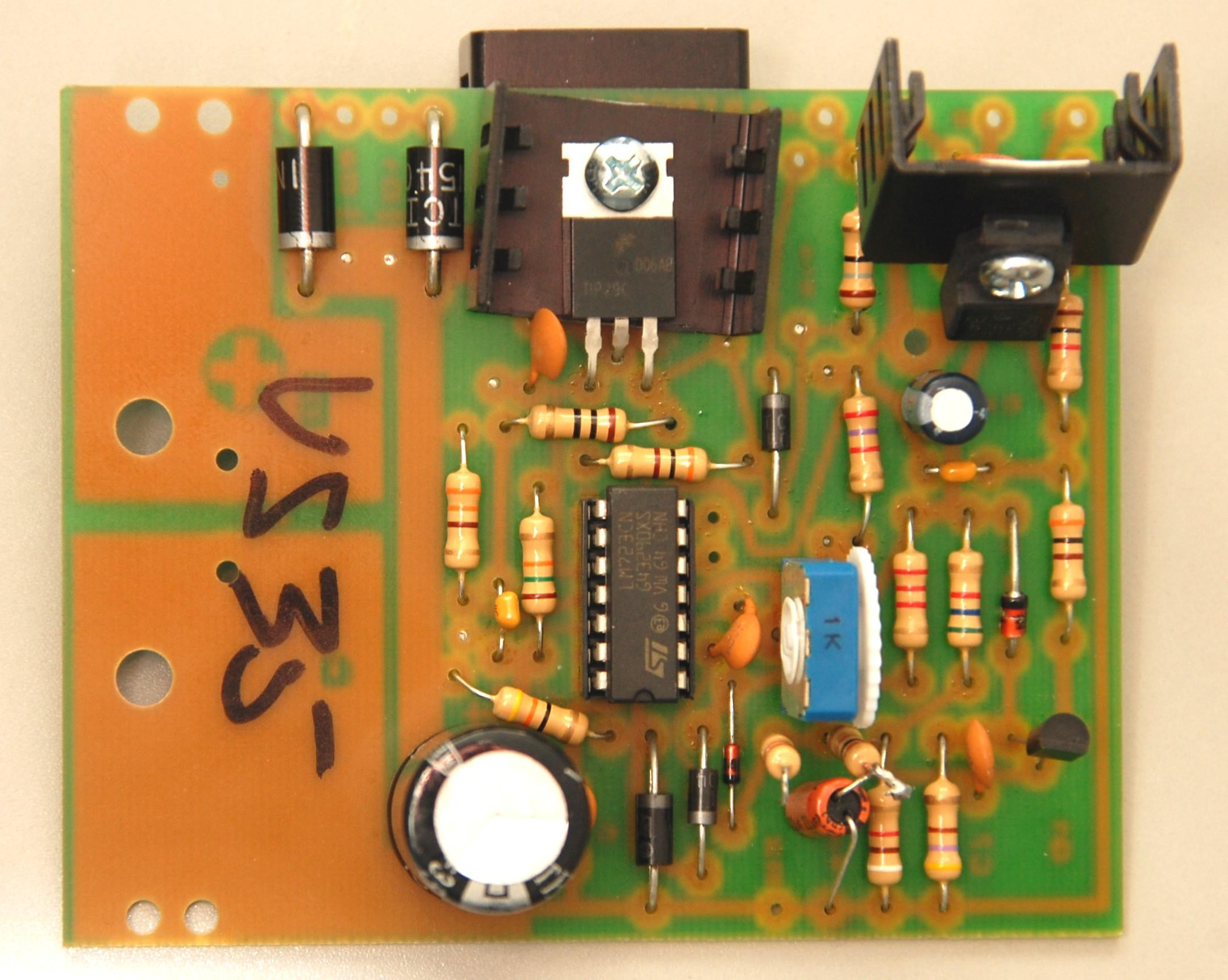 Astron Power Supply Index Page Supplies Discrete Semiconductor Devices And Circuits Of A Brand New Regulator Board Ordered In 2014 For Vs35 Courtesy Bob Mckinlay Ve3dj The Blue Adjustable Potentiometer Marked 1k On