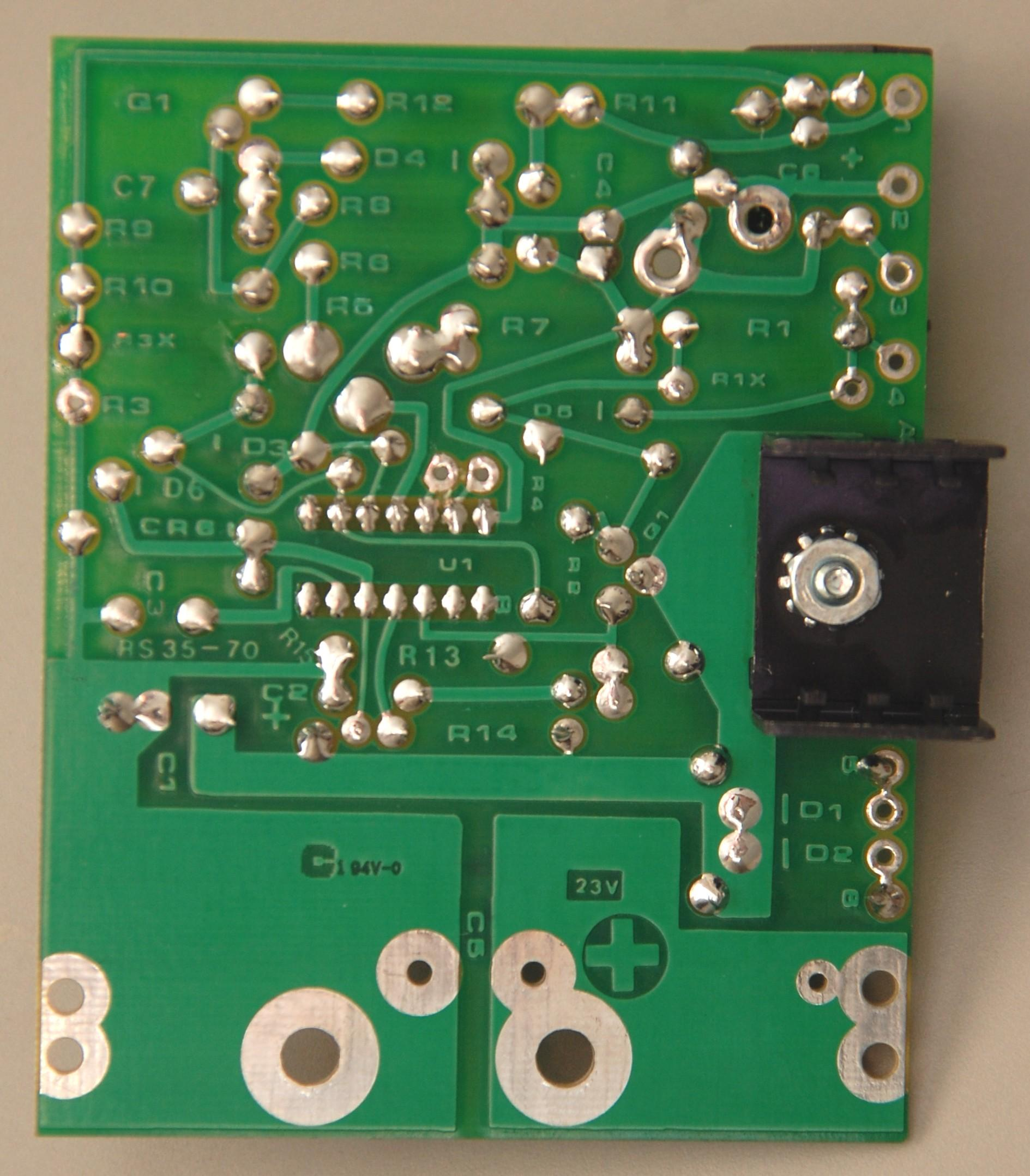 Astron Power Supply Index Page 15 To 37 Volt 30 Amp Brand New Regulator Board Ordered In 2014 For A Vs35 Courtesy Of Bob Mckinlay Ve3dj The Blue Adjustable Potentiometer Marked 1k On