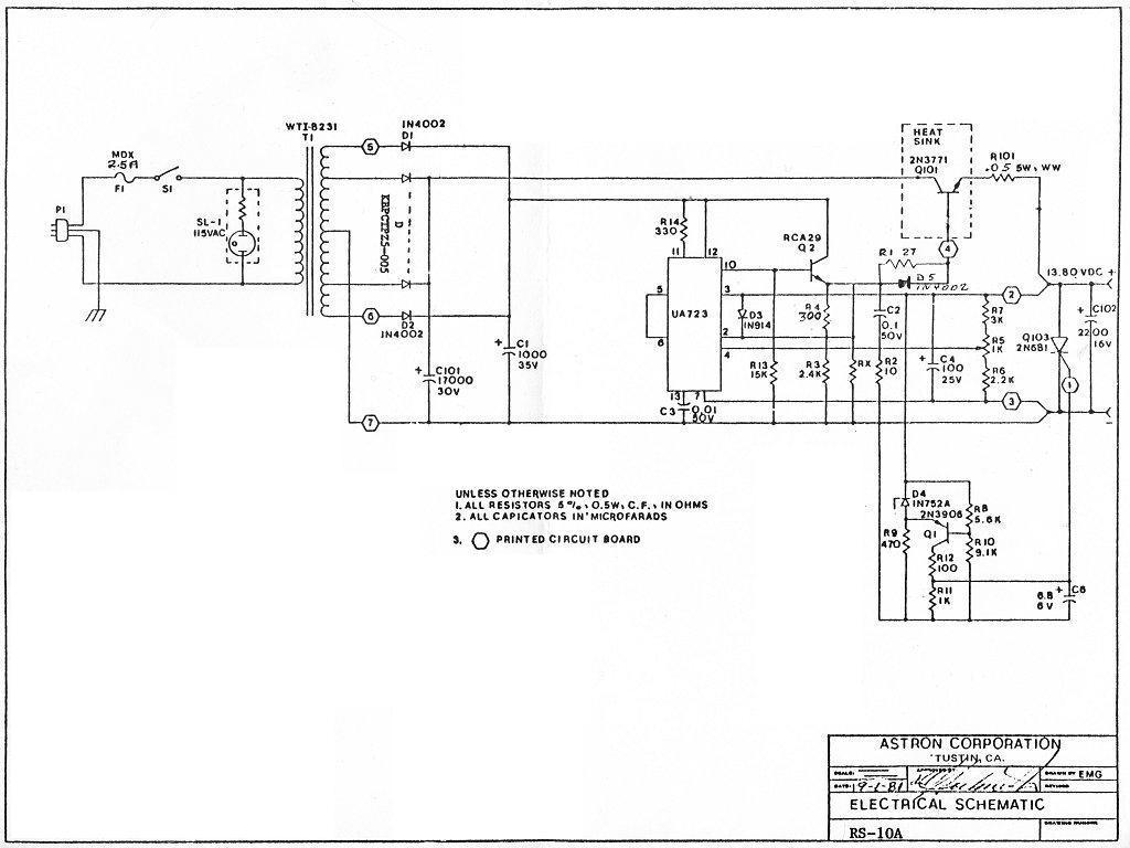 astron rs 35m schematic  | repeater-builder.com