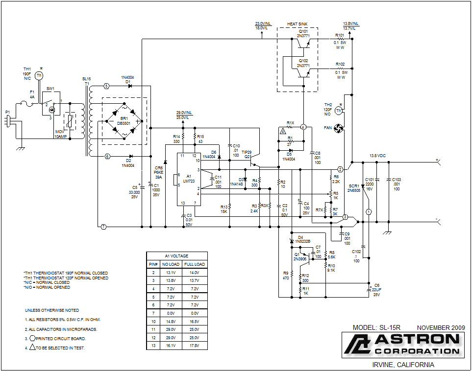 Astron 30 Amp Power Supply Schematic Www Idoidontdesign