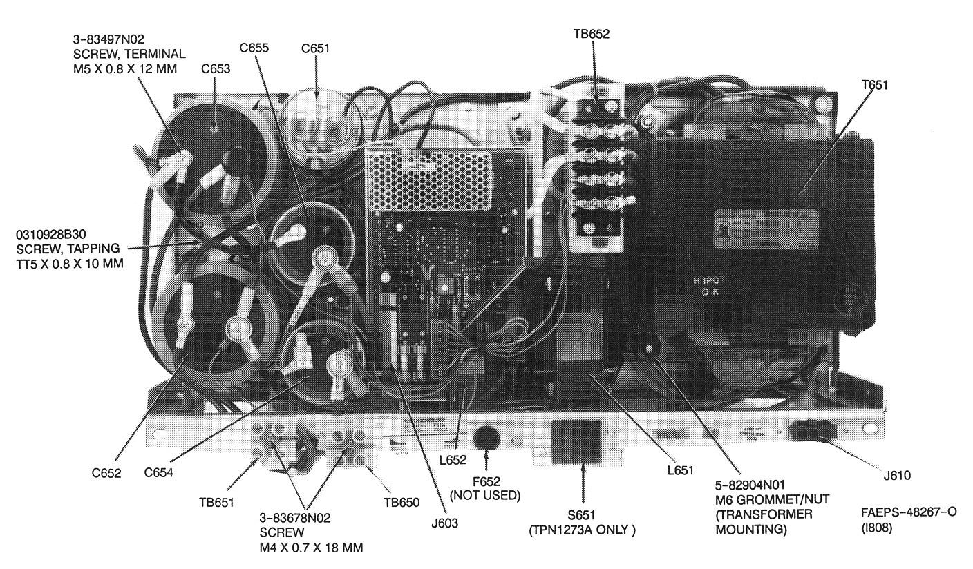 Msf5000 Battery Charging Power Supply Wiring 800 Diagram For Robert Msf Bb Ps Vhf Parts Id