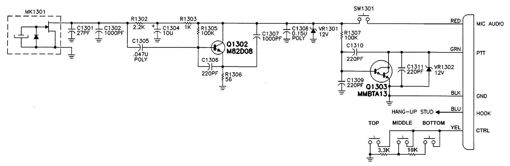 motorola mic wiring diagram   27 wiring diagram images