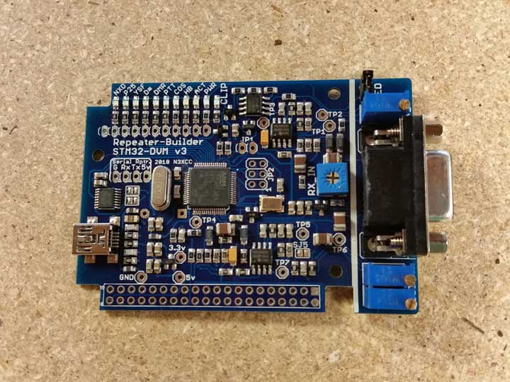 Repeater Builder STM32-DVM