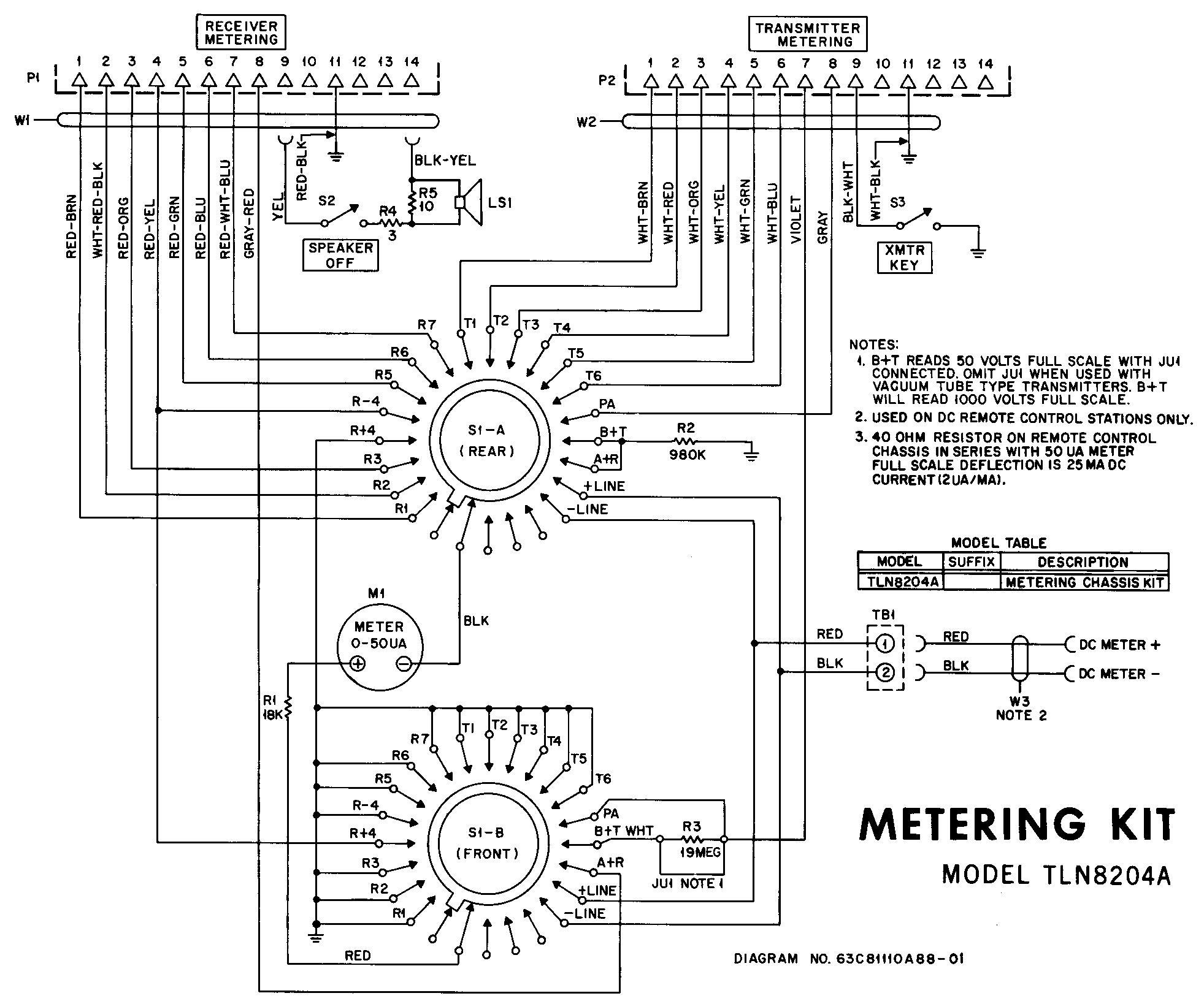 metering kit motorola motrac base station test meter 10 position rotary switch wiring diagram at panicattacktreatment.co