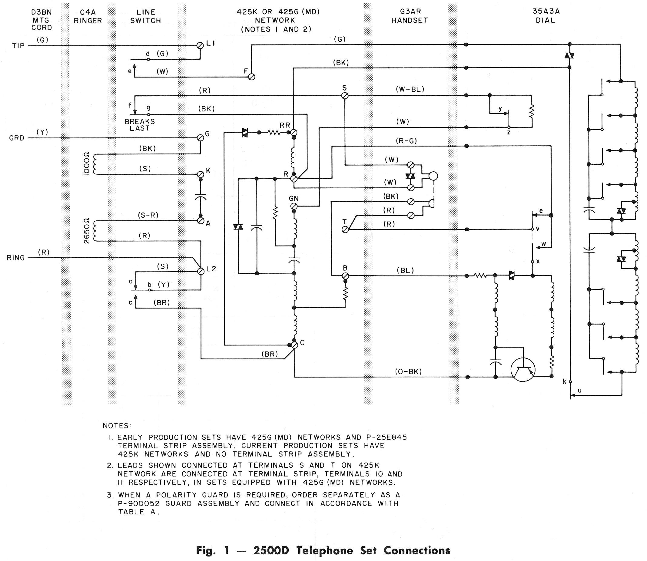 bell telephone dtmf dial and phone schematics