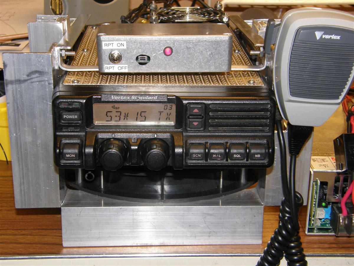 Using the Vertex VX-5500 and VX-6000 Radios for Repeater Service