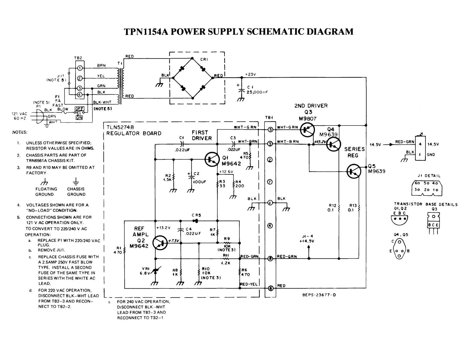 Improving The Motorola Tpn1154 And Tpn1136 Desktop Power Supplies 12vdc Regulated Supply With Schematic Diagram Share Heres A Photo Showing Terminal Strip Original Regulator Circuit Board Terminals Are Numbered Sequentially From 1 To 8 Starting At
