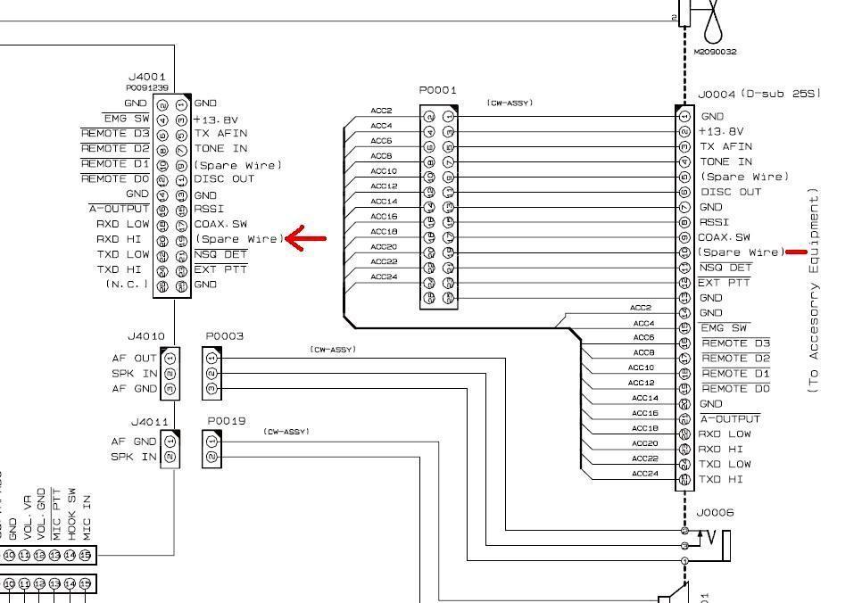 Adding a COR PLUS CTCSS Detect Signal to the Yaesu VXR